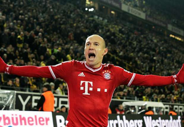 Robben dreaming of 'beautiful season'