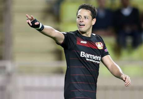 WATCH: Leverkusen's Chicharito tribute