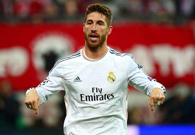 Sergio Ramos Bayern Munich Real Madrid Champions League Semi Final 04292014