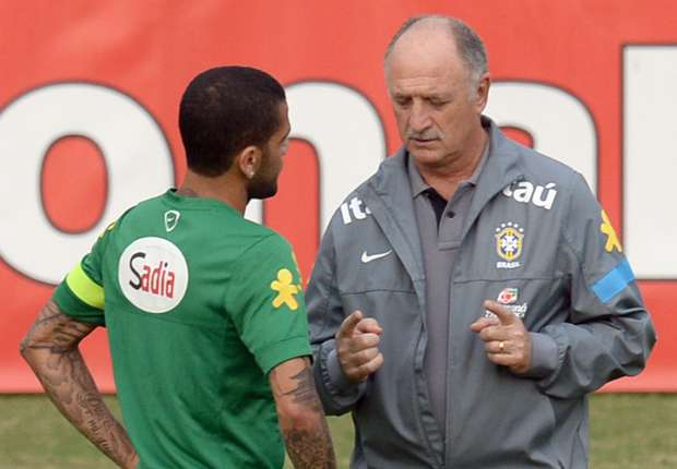 'I didn't like anything' - Scolari fumes over Brazil training efforts