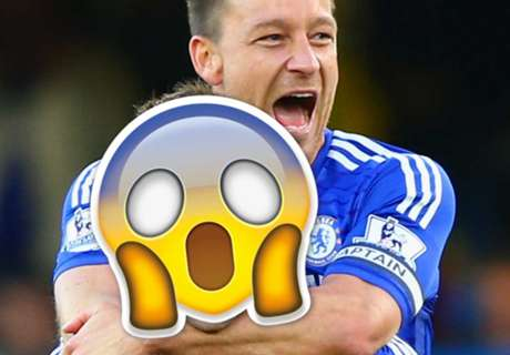 Terry plays the Chelsea Emoji Game
