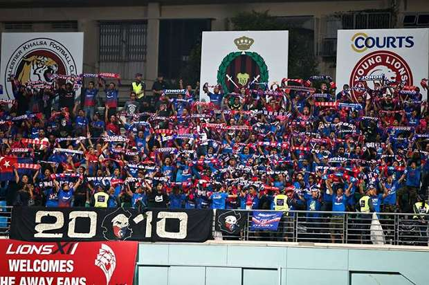 Police hunting down JDT fans who punched match official