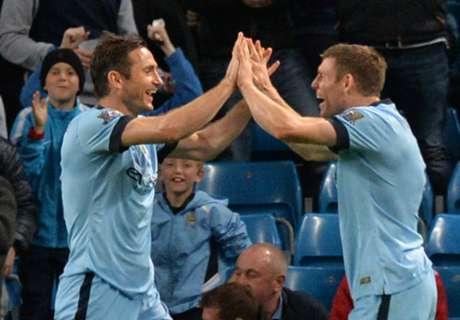 C.Liga: Manchester City 7 x 0 Sheffield