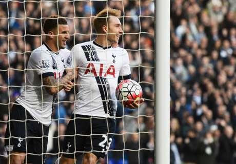 Tottenham sigue en la pelea