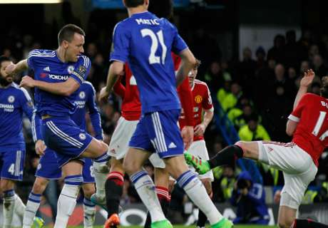 Chelsea-Man United 1-1, résumé de match