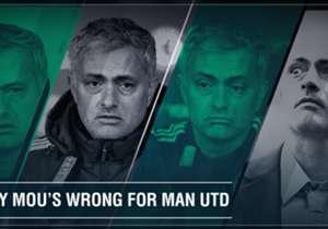 Der frühere Chelsea- und Madrid-Coach wird Louis van Gaal bei Manchester United ablösen. Goal hat zehn Gründe für euch zusammengestellt, warum der Portugiese keine gute Wahl ist...