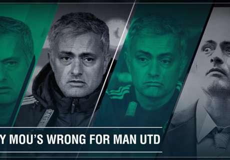 Zehn Gründe gegen Mou bei United