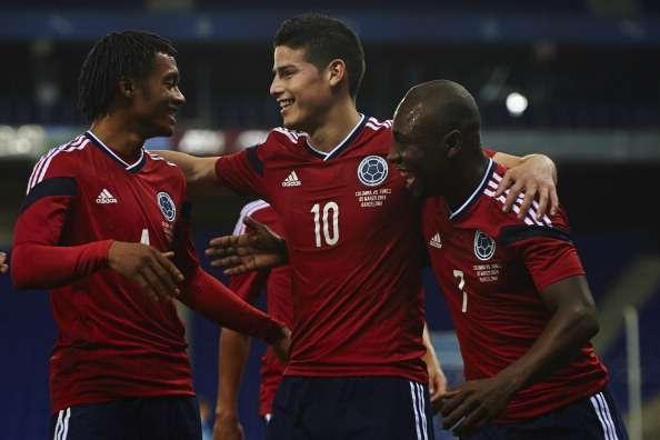 Colombia continúa con la preparación de cara al Mundial