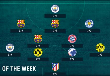Die CL-Top-11 der Woche