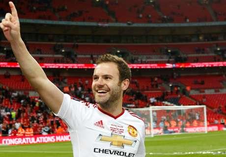 Mourinho: Man Utd 'natural habitat' for Mata