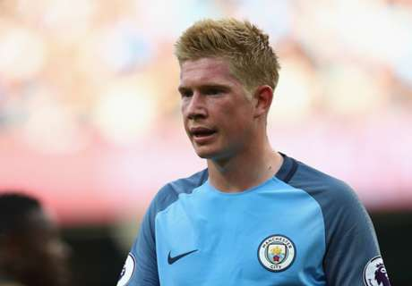 Pep: De Bruyne out for three weeks