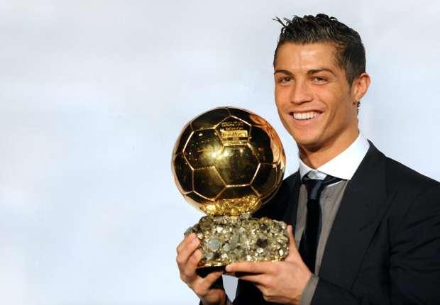 Cristiano Ronaldo sicherte sich den Ballon d'Or