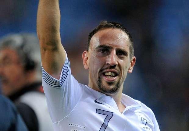 Ribéry stopt bij nationale ploeg van Frankrijk