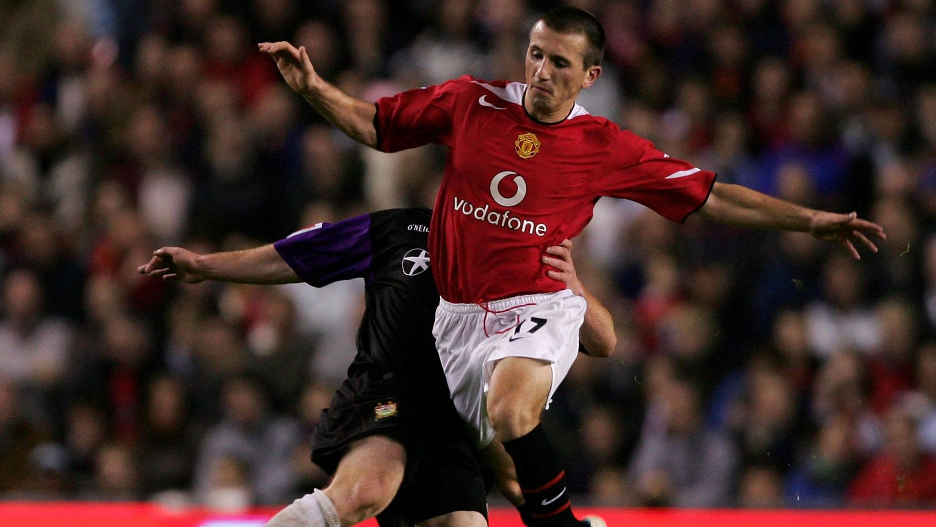 Liam Miller Manchester United