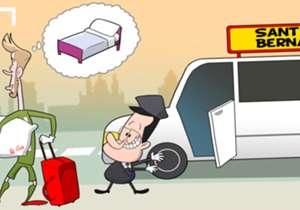 Cartoon of the Day: David De Gea Madrid