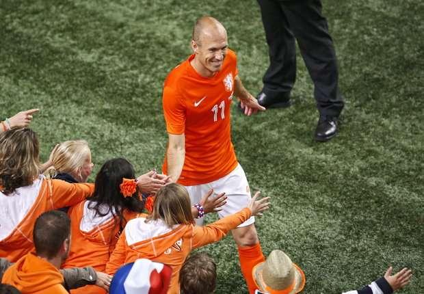 Arjen Robben: I'm proud of what we achieved in 2010