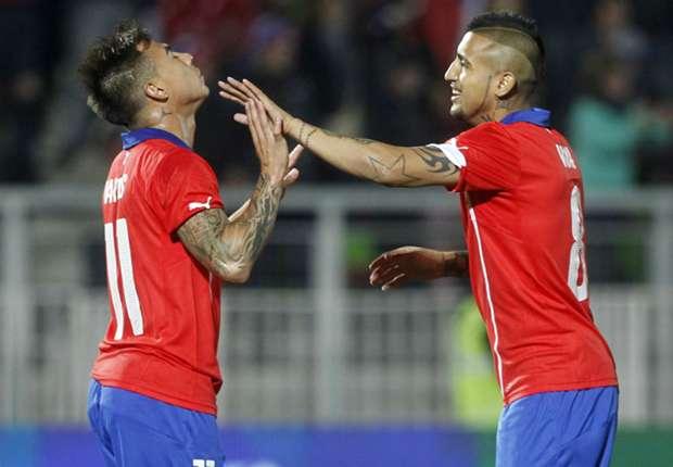 Eduardo Vargas und Arturo Vidal wollen mit Chile für Furore sorgen