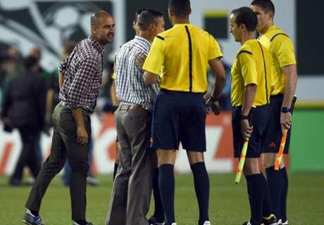 Guardiola weet niets van geweigerde hand