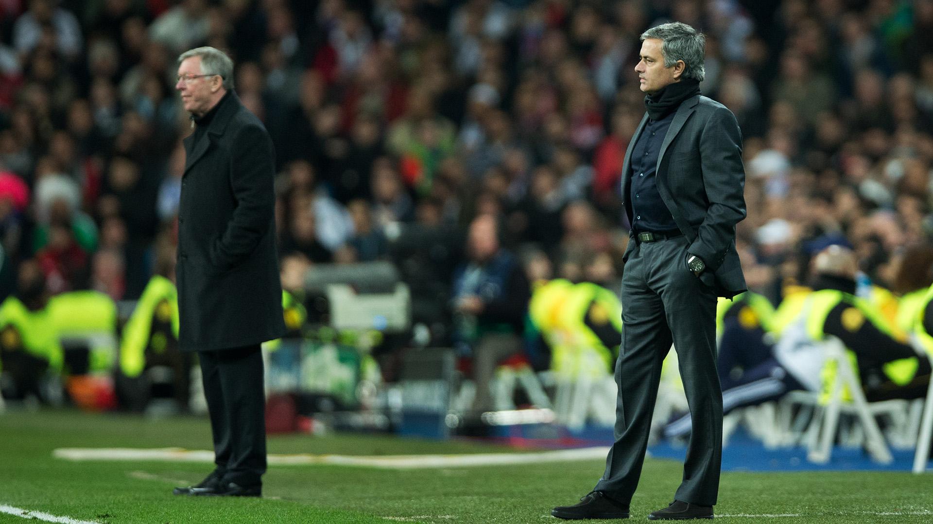 Jose Mourinho Sir Alex Ferguson