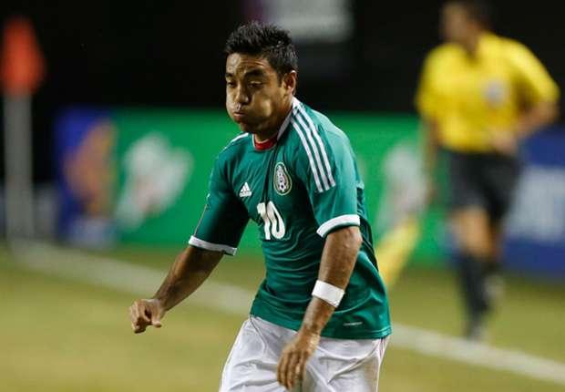 Mexico's Marco Fabian is happy at Cruz Azul