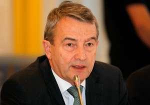 DFB-Präsident Niersbach freut sich auf die Akademie