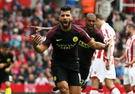Aguero comes out on top vs Bojan