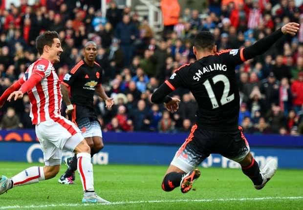 Stoke City-Manchester United 2-0, MU n