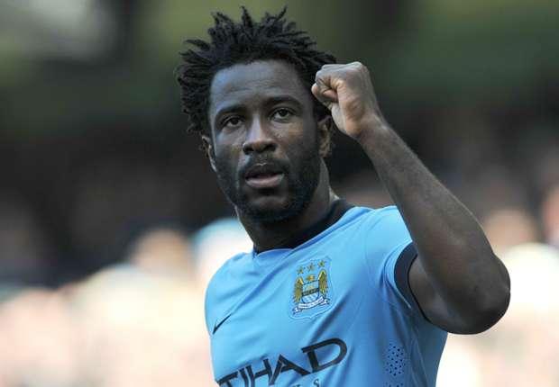Manchester City, Bony en béquilles