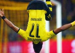 =3 | Pierre-Emerick Aubameyang | Borussia Dortmund, Germania | 20 goal | fattore 2.0 | 40 punti