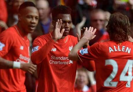 Liverpool-Stoke 4-1, résumé de match