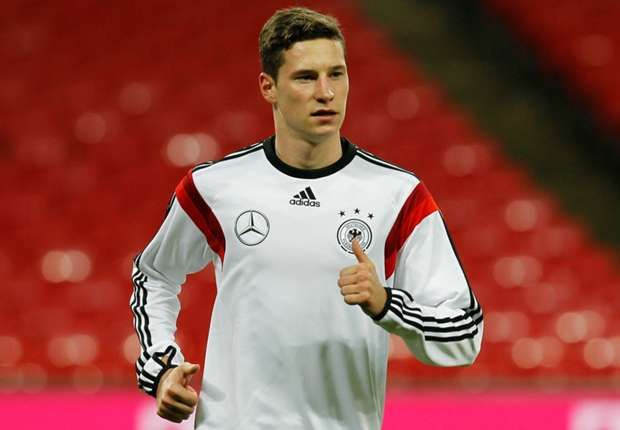 I will definitely be at the World Cup, insists Draxler