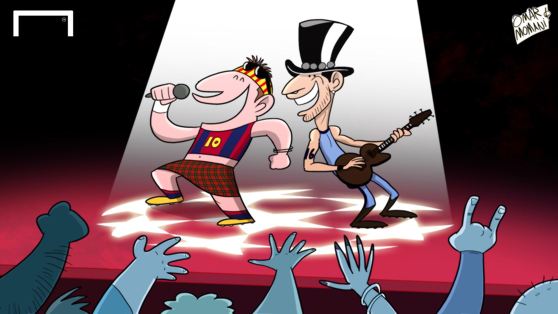 Серхио Агуэро, Лига чемпионов, Лионель Месси, Барселона, Манчестер Сити