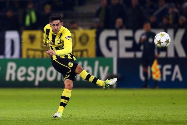 Manchester United target Gundogan ruled out of World Cup