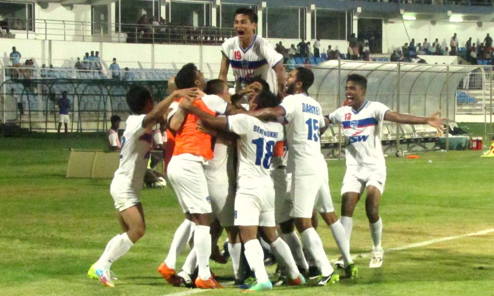 Dempo SC vs Bengaluru FC I-League