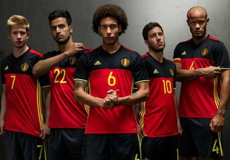 Lista de 24 de Bélgica para la Euro