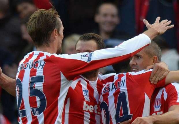 Stoke City 2-1 Swansea City: Walters header seals Potters comeback