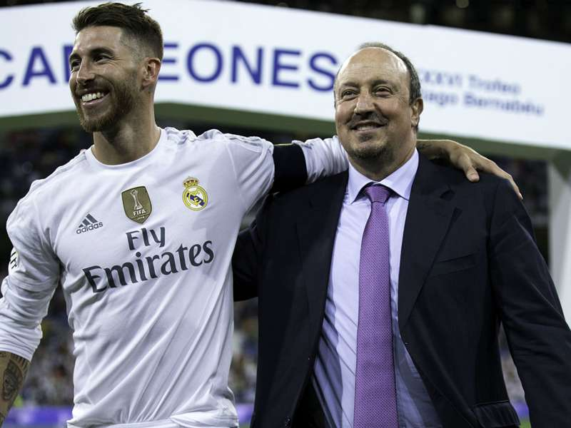 Ramos questions Benitez's substitutions in the Madrid derby
