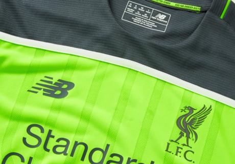 Liverpool unveil 'Toxic Thunder' third kit