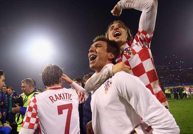 Mario Mandzukic ermöglichte Kroatien mit seinem Tor in den Play-Offs die Teilnahme an der WM 2014