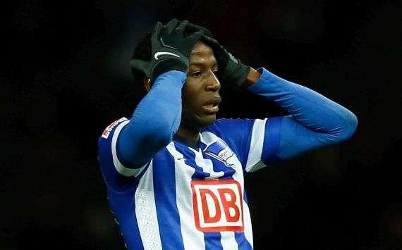 Seit neun Spielen blieb Adrian Ramos mit Hertha BSC sieglos