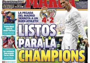 MARCA | ESPAÑA | Listos para la Champions. La pegada del Real Madrid derrota a un buen Athletic