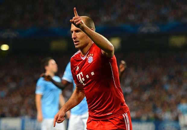 Loting Champions League: Van Persie komt Robben tegen