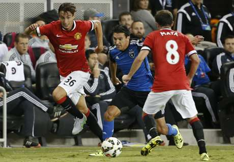 In Pictures: Man Utd defeat San Jose