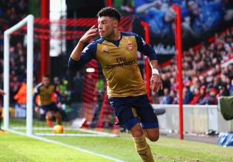 Gol Beruntun Jaga Kans Juara Arsenal