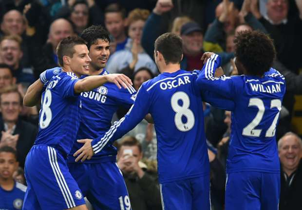 Chelsea 2-0 West Brom: Costa & Hazard lead Blues to victory