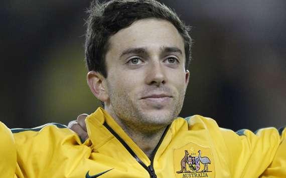 Tommy Oar Australia v Ecuador international friendly 2014