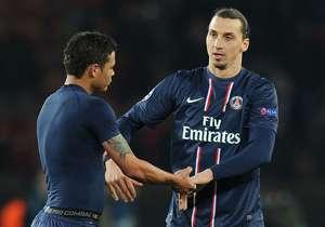 Thiago Silva & Zlatan Ibrahimovic, Paris Saint-German