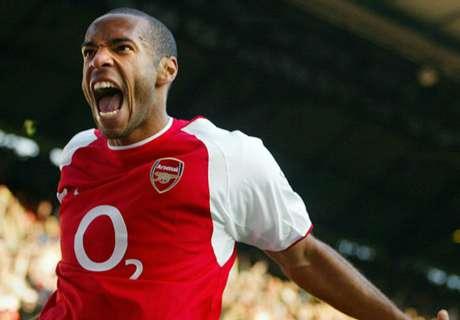 De carrière van Thierry Henry