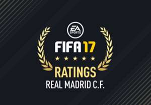 EA Sports have released Real Madrid's squad ratings for FIFA 17. Check them out here, from Cristiano Ronaldo to Gareth Bale...