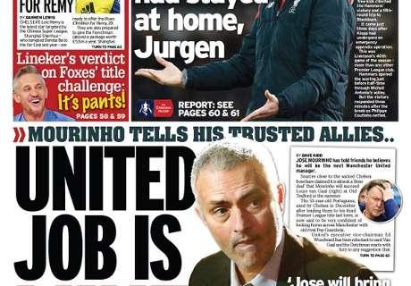 'Mourinho volgt Van Gaal op'